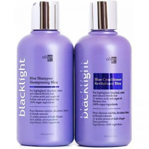 OLIGO PROFESSIONNEL BLACKLIGHT BLUE SHAMPOO & CONDITIONER 8.5 OZ DUO BUNDLE