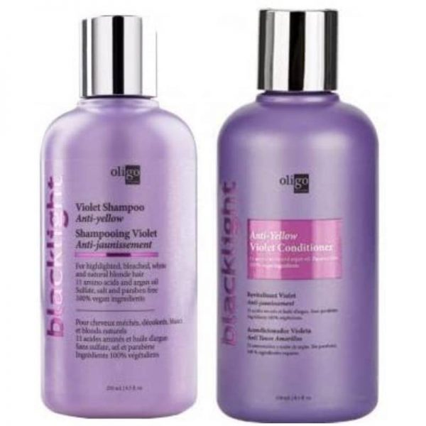 Oligo Professionnel Blacklight Violet Shampoo and Conditioner 8.5 oz Duo Bundle