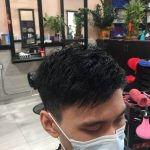 asian men short hair cut