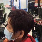 women long hair pixie hair cut